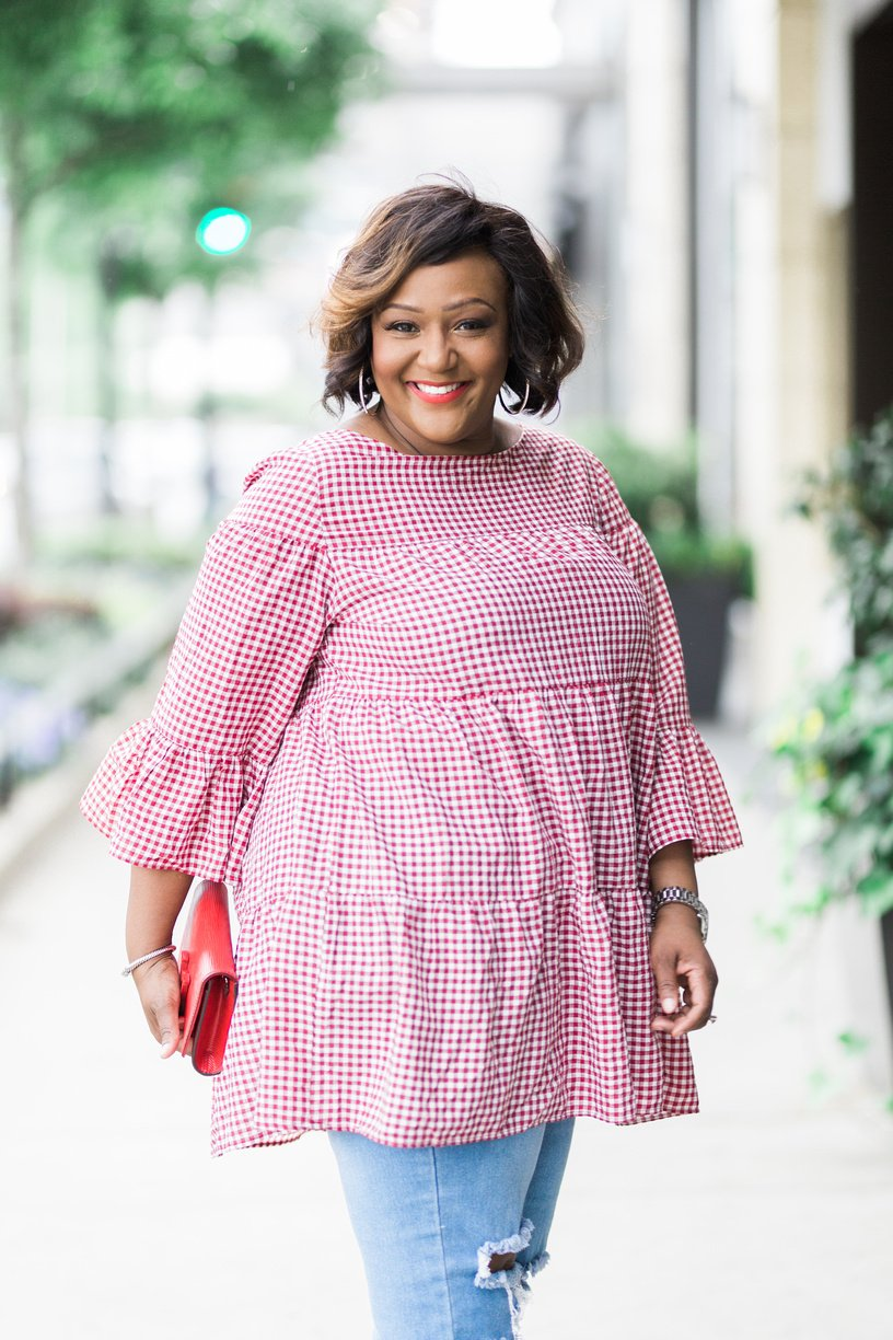 Go Gingham For Memorial Day