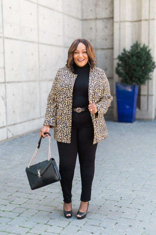 Women's Plus Size Frock Coat