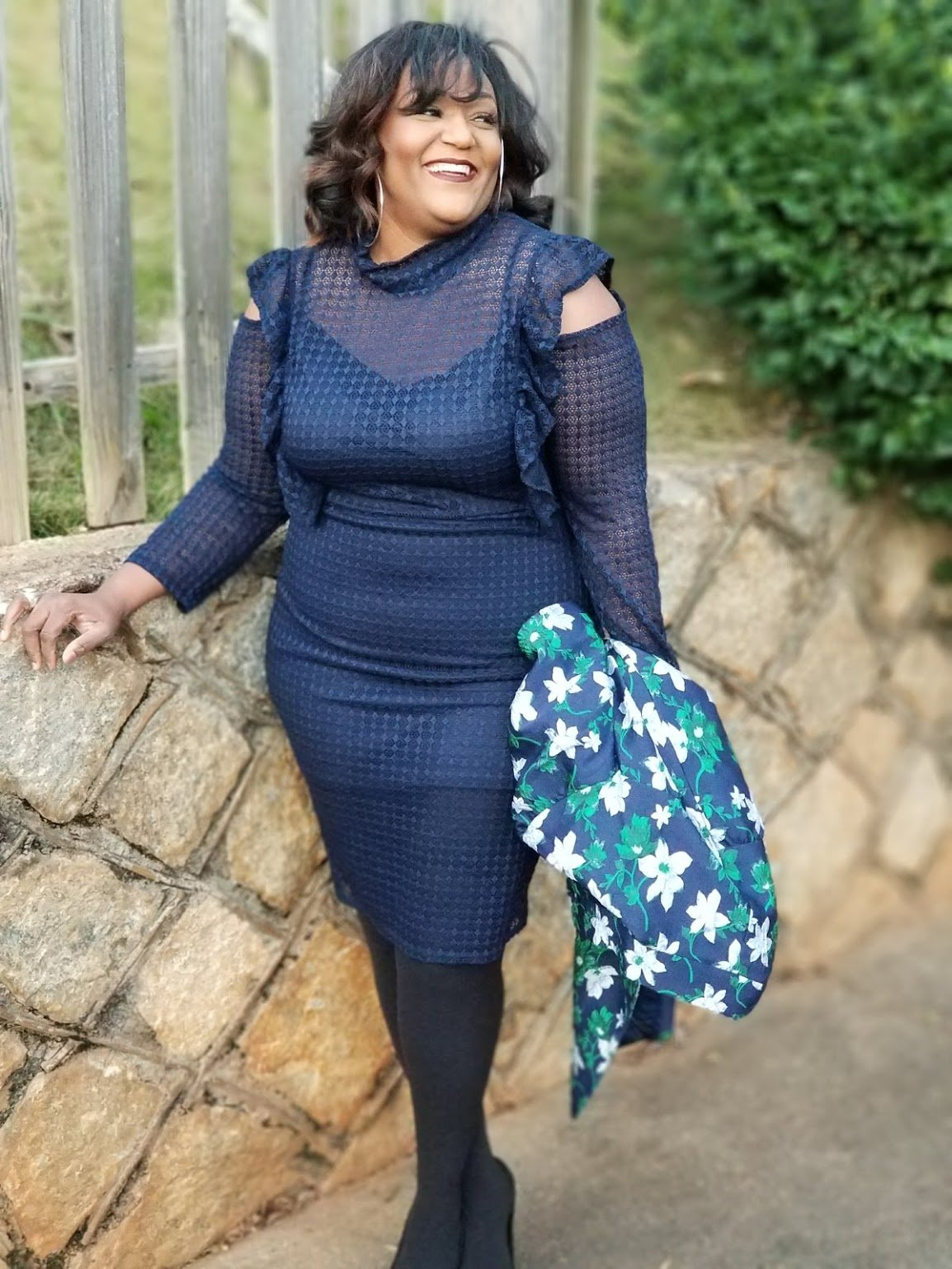 Simply Blue-tiful SimplyBe Lace Dress