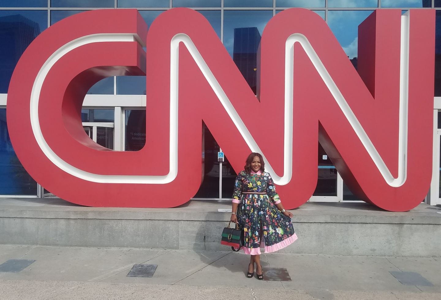 43f51967f85 NikkiFree Talks The Business Of Plus Size Fashion on CNN s Headline News