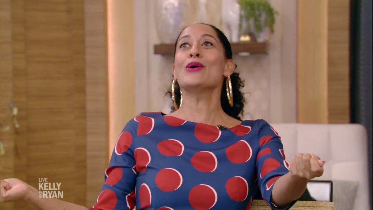Tracee Ellis Ross on Live With Kelly and Ryan