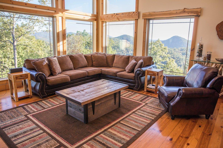 Kleinhaus Cabin Great Room