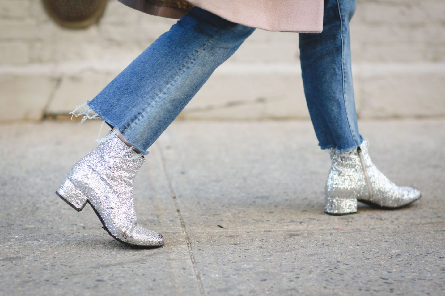 Glitter Boots are all the rage this fall