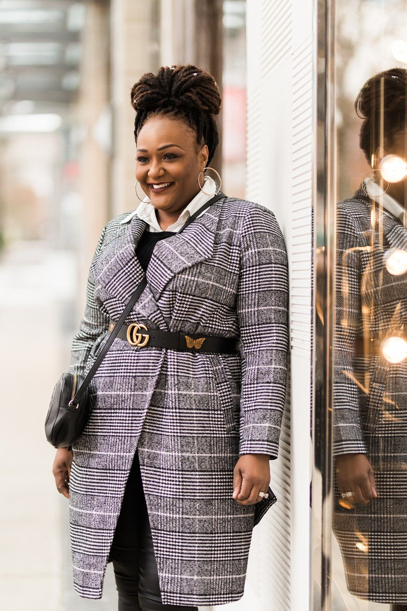 The Plaid Coat Has Made A Triumphant Comeback