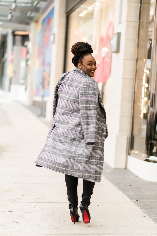 The Plaid Coat Has Made A Triumphant Comeback