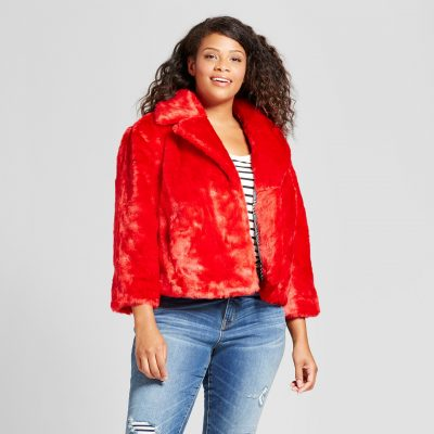 Ava & Viv™ Faux Fur Jacket