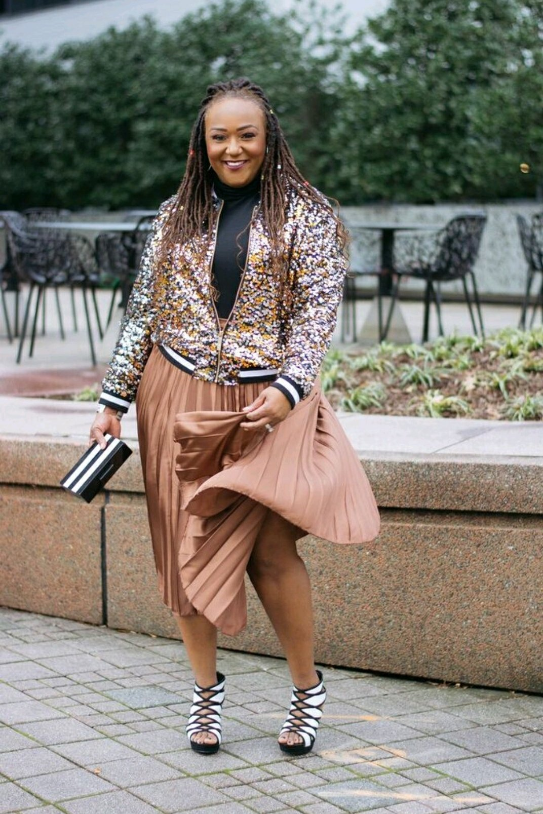 Sequins In Spring