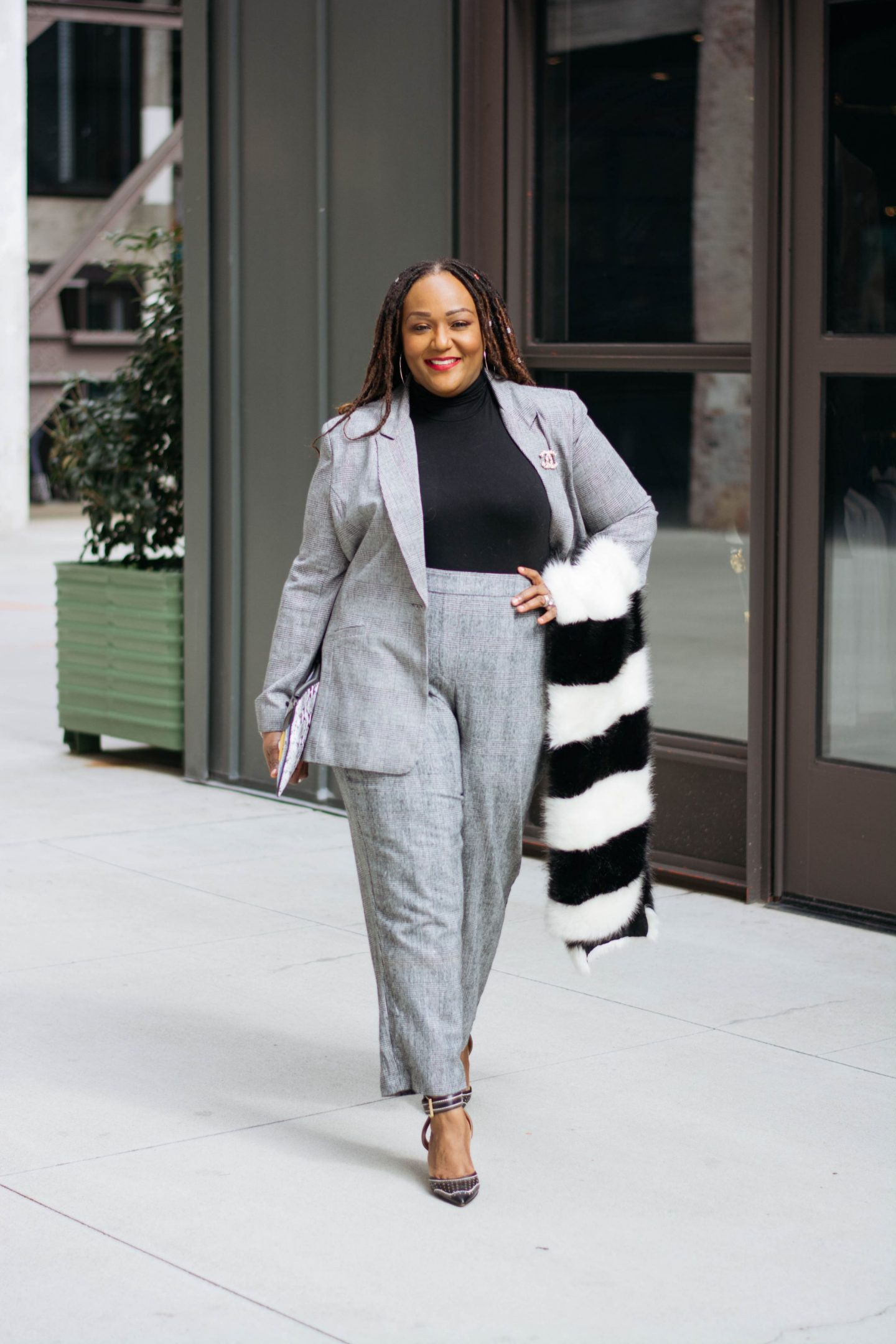 Trend Report The Female Power Suit Is Back On Top