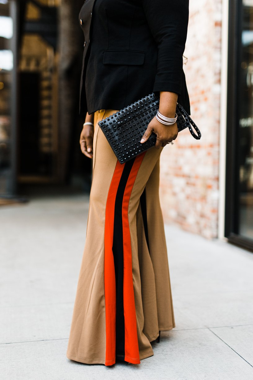How To Wear Flared Leg Pants