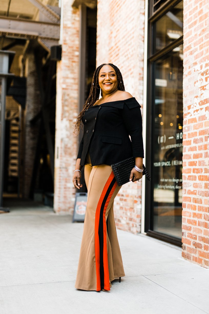 How To Rock Flared Leg Pants