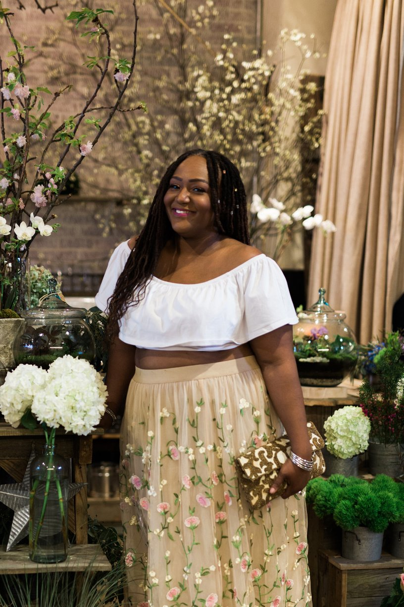 My Carrie Bradshaw Tulle Skirt Moment
