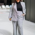 Elvi Plaid Business Wear